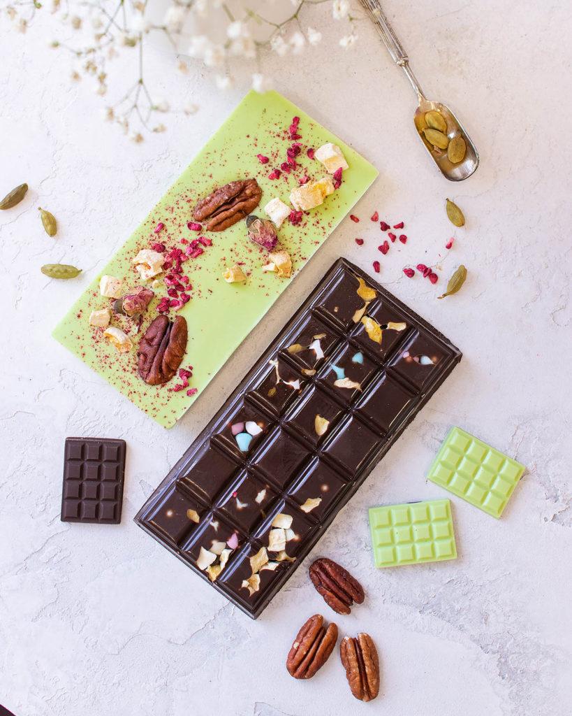 Как украсить шоколад ручной работы - новая форма - фото