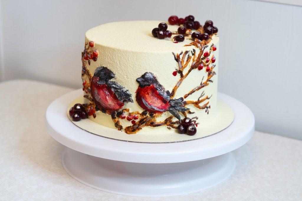 Как выбрать поворотную подставку для торта - фото