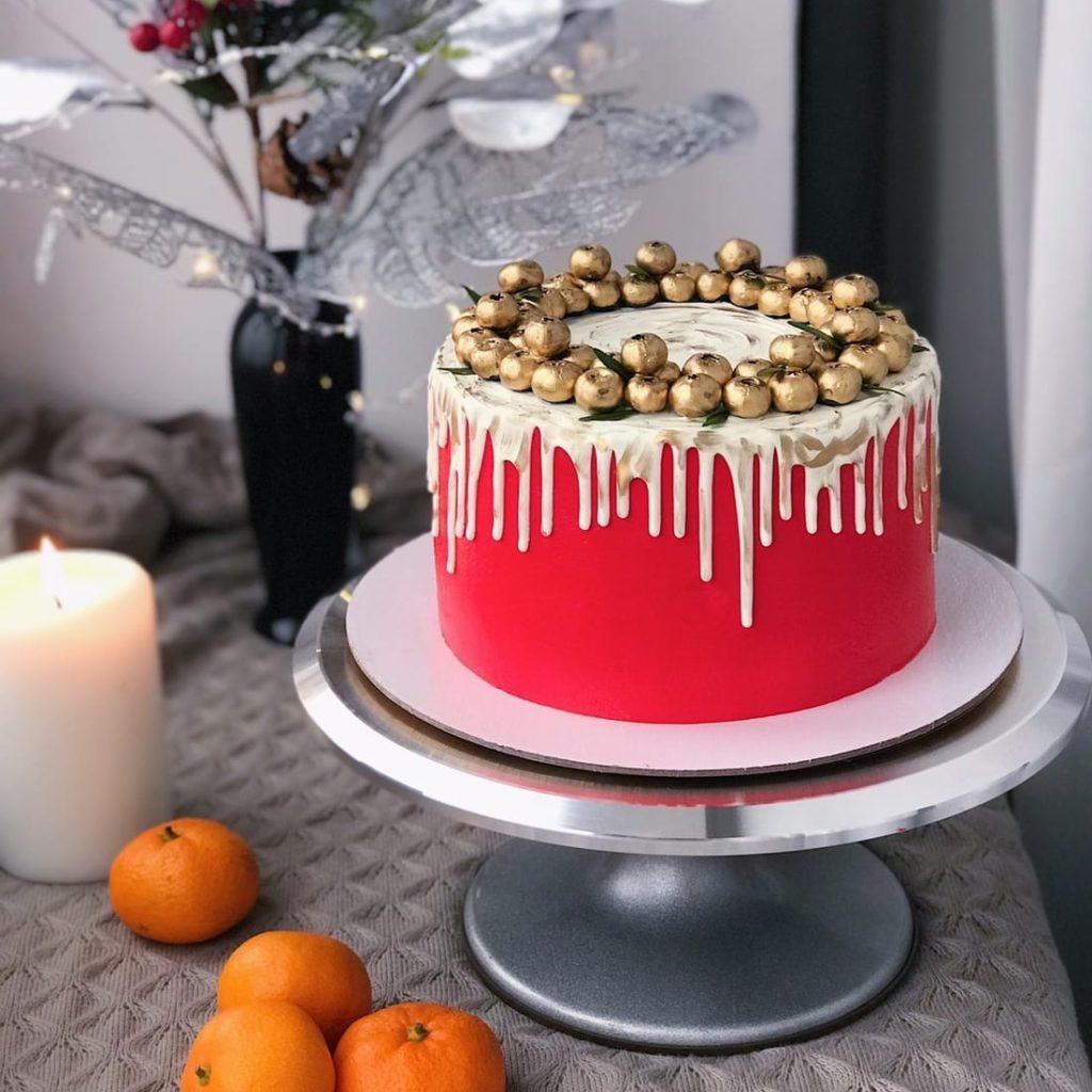 Лучшая крутящаяся подставка для торта - фото