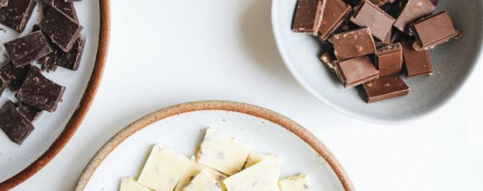 Какой шоколад лучше для украшения торта - фото