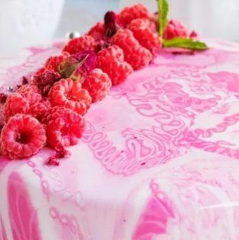 Кондитерский гель для торта своими руками - фото