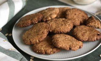 Овсяное печенье с сухофруктами — фото к рецепту №11