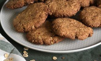 Овсяное печенье с сухофруктами — пошаговый рецепт