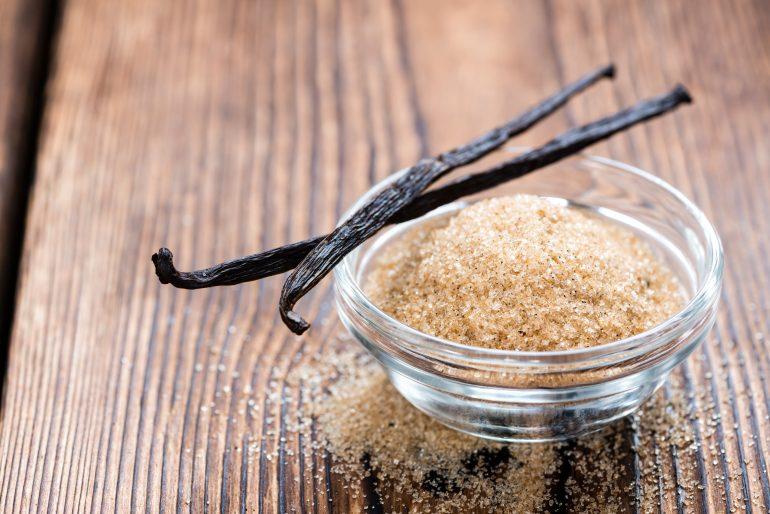 Как сделать ванильный сахар - фото