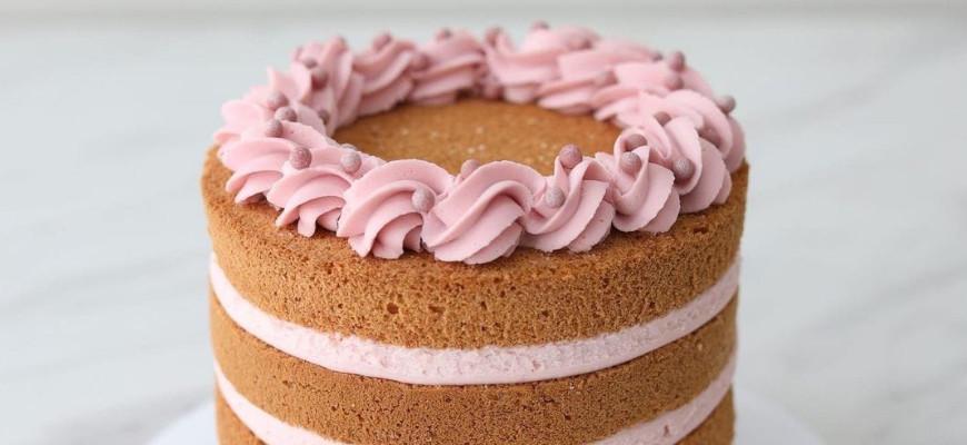Чем смазать форму для выпечки бисквита - фото
