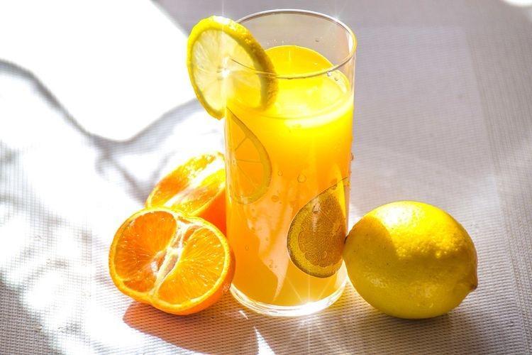 Чем заменить лимонную кислоту - цитрусовый сок - фото
