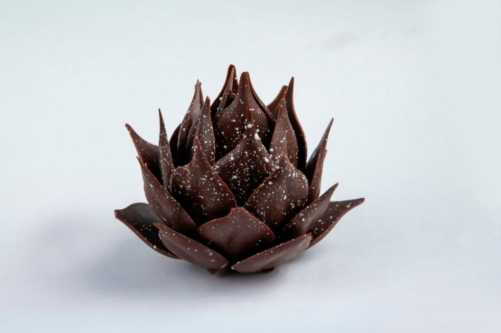 Шоколад покрылся белым налетом - фото
