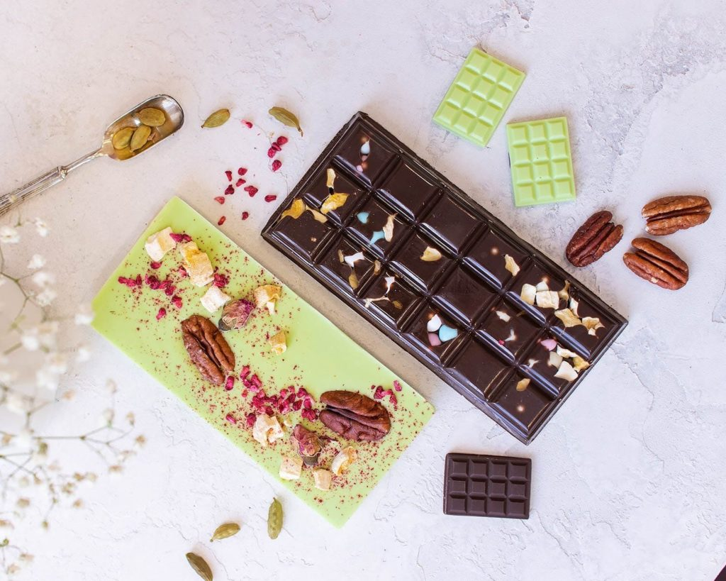 Почему белеет шоколад - слабая текучесть - фото