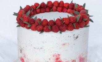 Чем и как покрасить крем для торта - фото