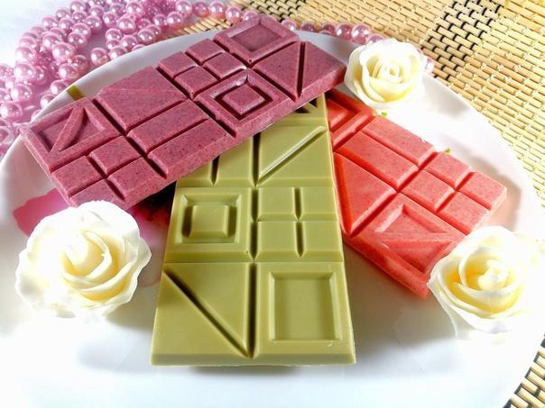 Как и чем покрасить шоколад - сухие и гелевые красители - фото
