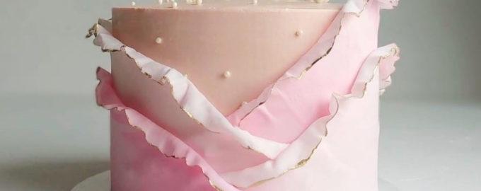 Как получить телесный цвет мастики - фото
