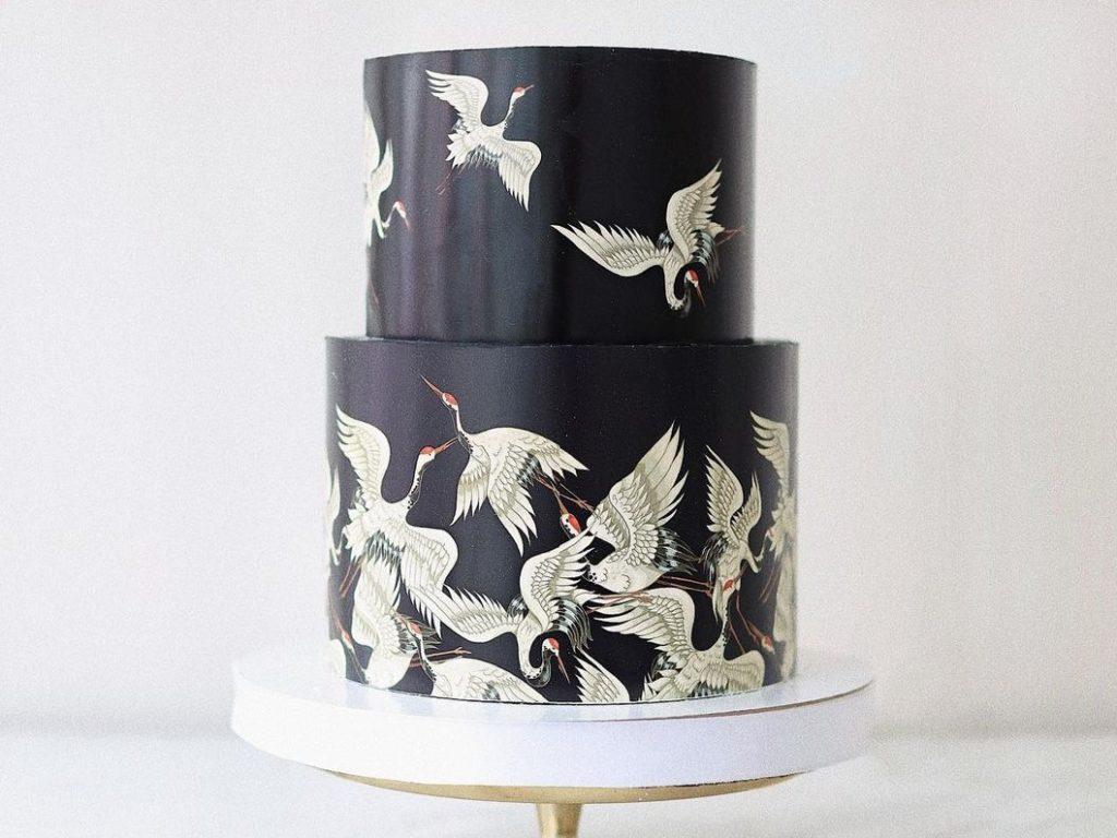 Какими красителями покрасить крем для торта в черный цвет - фото