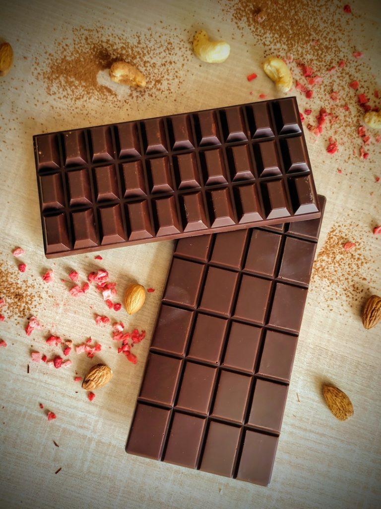 Какие бывают виды шоколада - шоколадная плитка - фото