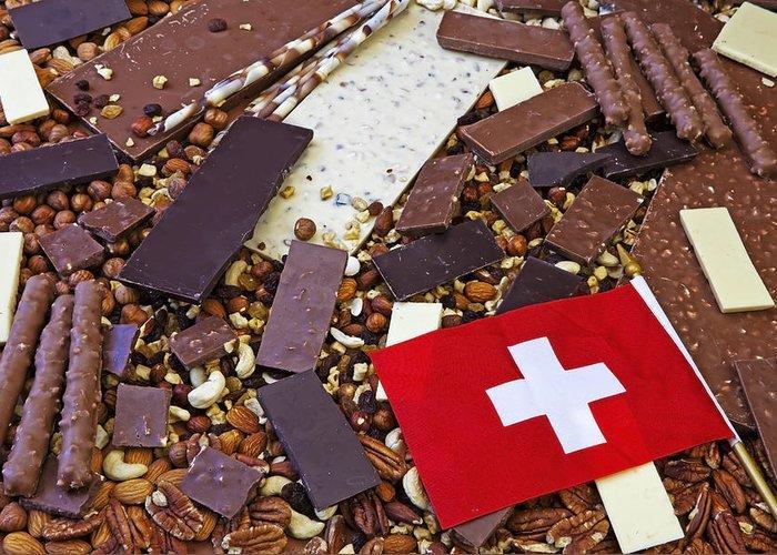 Шоколад из Швейцарии - фото