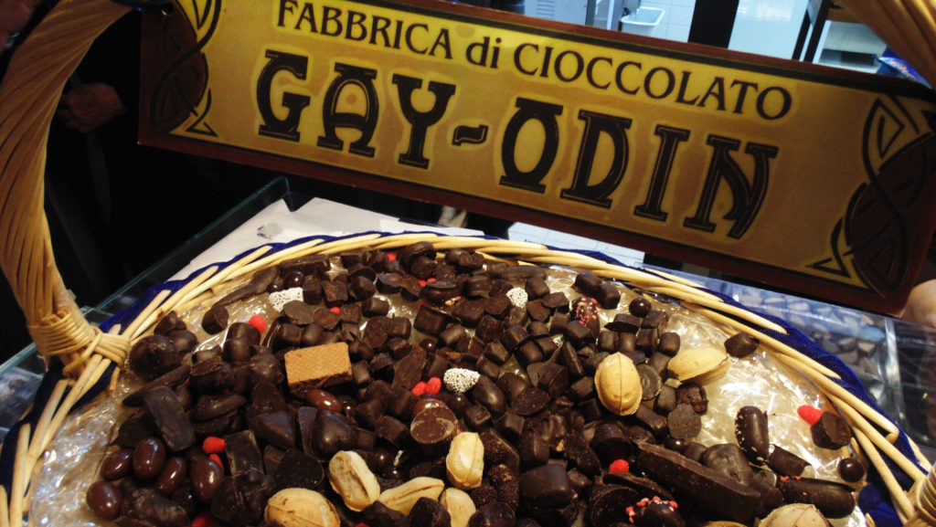 Шоколад из Италии - фото