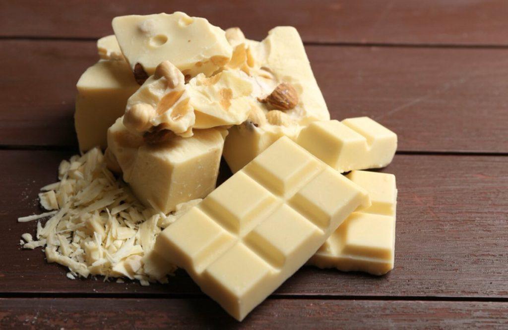 Какие бывают виды шоколада - белый - фото
