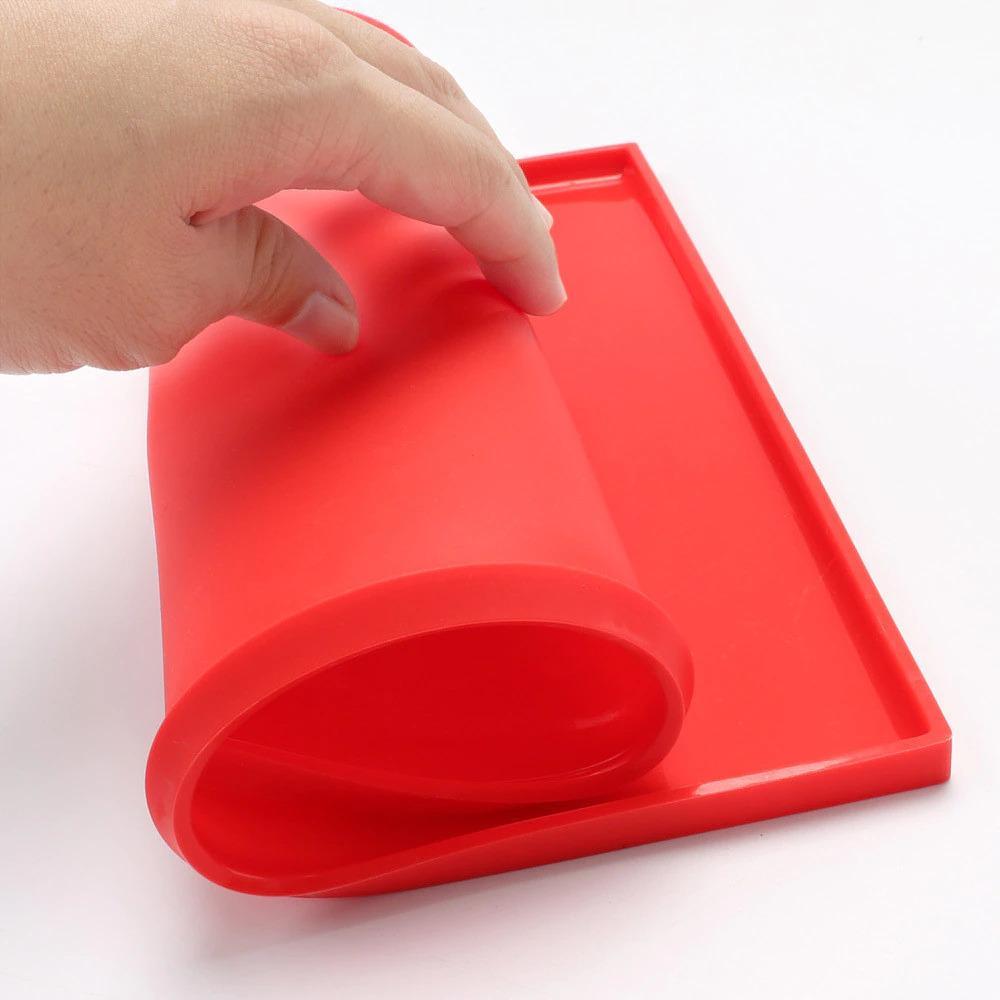 Как выбрать коврик для запекания - коврик с бортиками - фото