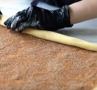 Рецепт булочек «Синнабон» с корицей - фото к рецепту №7