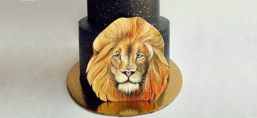 Чем рисовать на мастике для торта - фото