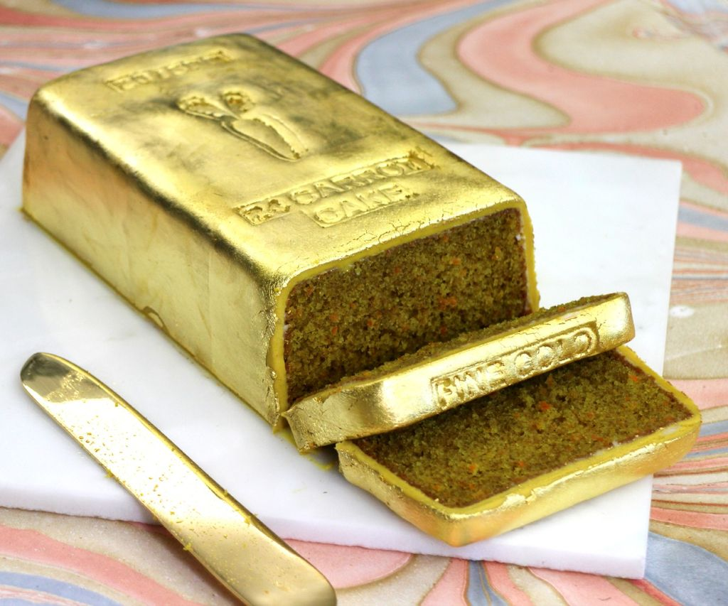 Пищевое кондитерское золото - польза и вред - фото
