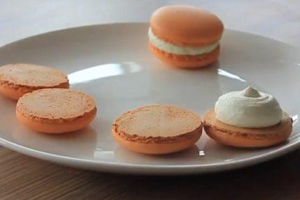 Рецепт апельсинового ганаша для начинки макарон - фото к рецепту №6