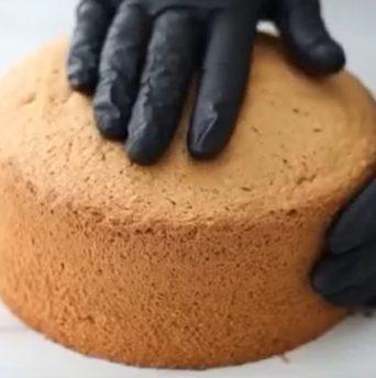 Рецепт бисквита из миндальной муки - фото