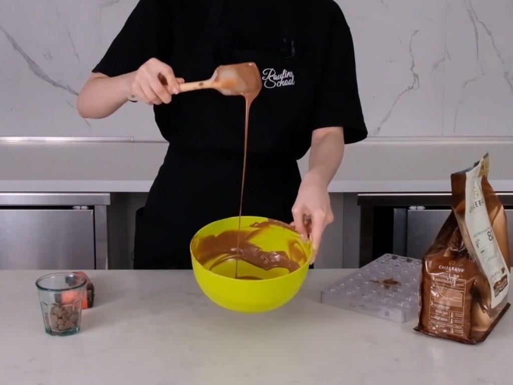 Темперирование шоколада каллетами - фото