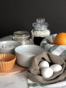 Апельсиновый кекс в духовке — фото к рецепту №1