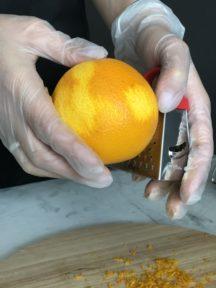 Апельсиновый кекс в духовке — фото к рецепту №2