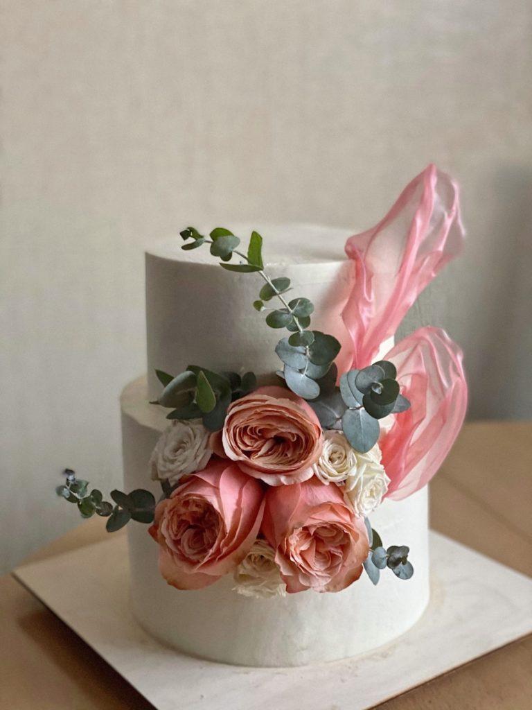 Идеи декора - Цветы из вафельной бумаги - фото