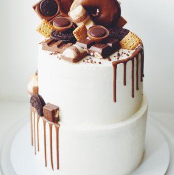 Урок №9 — Двухъярусный торт