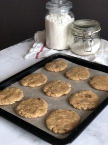 Овсяное печенье с сухофруктами — фото к рецепту №9