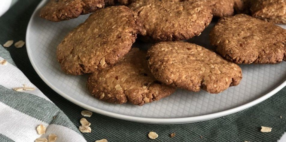 Овсяное печенье с сухофруктами - рецепт - фото