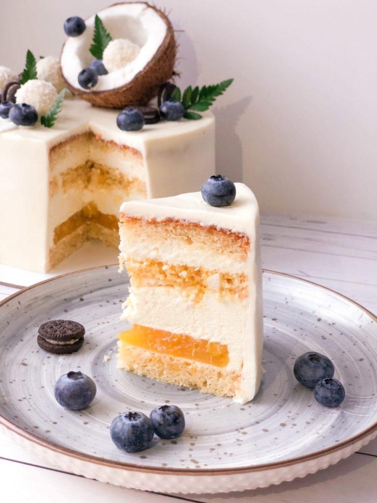 Какие бывают кремы для тортов - Творожно-сливочный крем - фото