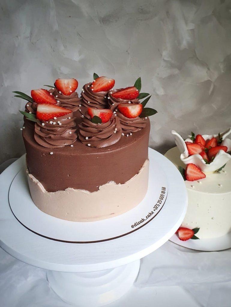 Чем можно посыпать торт в домашних условиях - фото