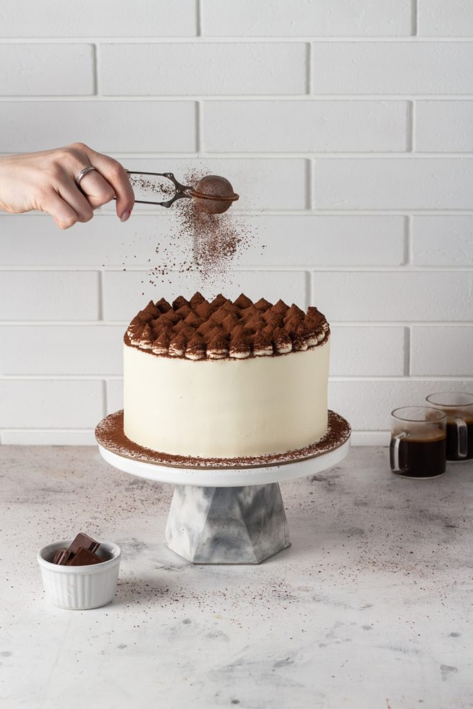 Советы по работе с посыпкой - какао-порошок  - фото