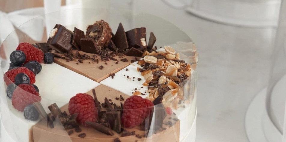 Чем обсыпать торт в домашних условиях - фото