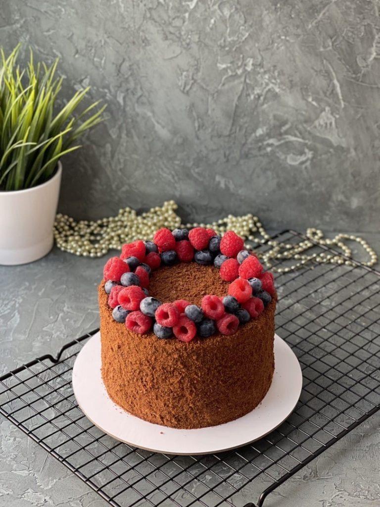 Чем посыпать торт - советы - фото