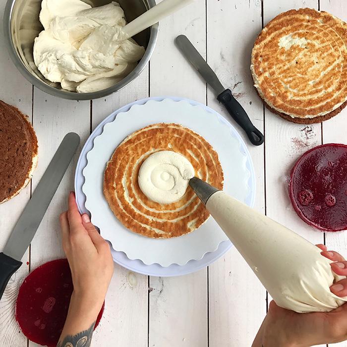 Как рассчитать количество крема для торта - крем для прослойки - фото