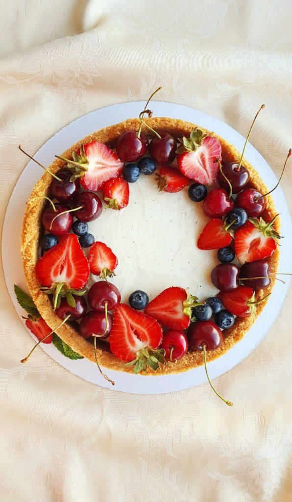 Декор торта с черешней - фото 1