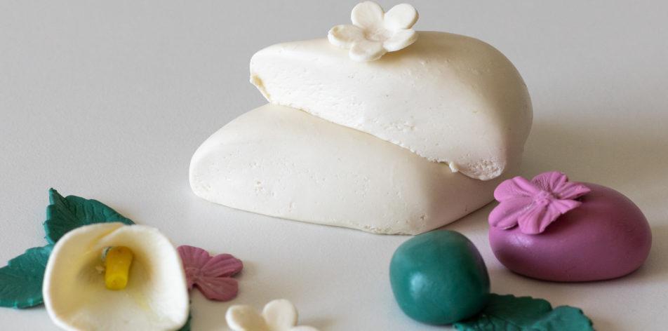 Молочная мастика из сухого молока - фото