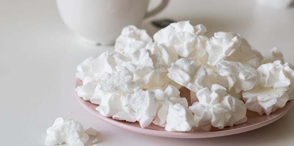 Рецепт безе без сахара - Готовое безе - фото