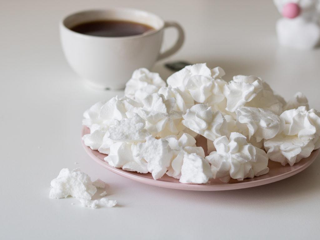 Рецепт безе без сахара - фото