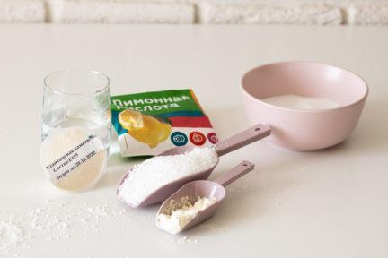 Рецепт безе без сахара - шаг 1 - фото