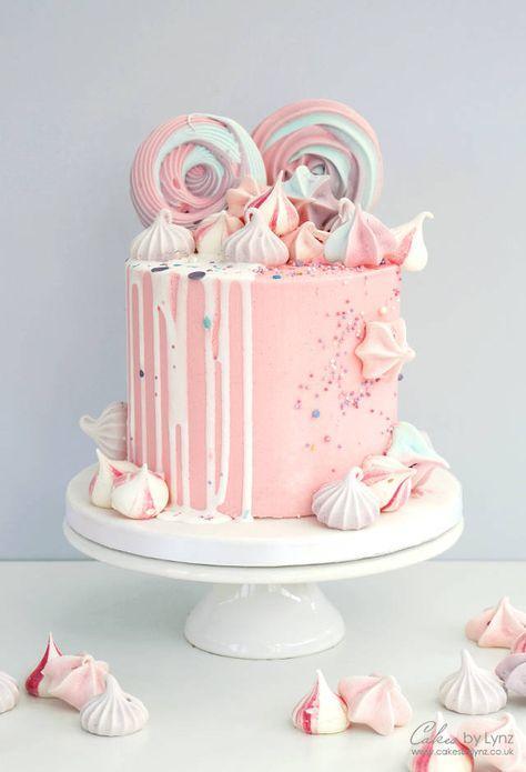 Рецепт безе на палочке для украшения торта - фото