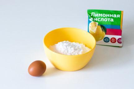 Рецепт безе в микроволновке - шаг 1 - фото