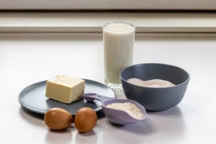 Рецепт классического заварного крема - шаг 1 - фото