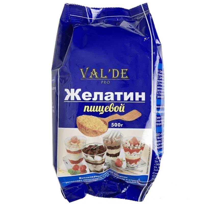 Быстрорастворимый желатин Valde