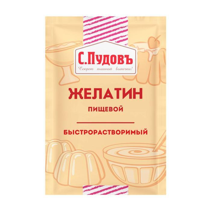 Быстрорастворимый желатин С.Пудовъ