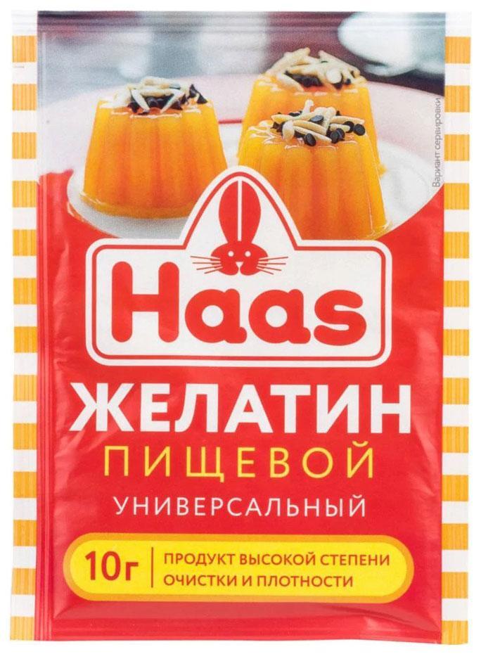 Быстрорастворимый желатин Haas